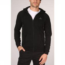 First Pull Travis Sweat Zip Hood Noir