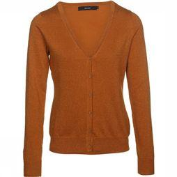 Vero Moda Basics Cardigan Glory New Lurex dark yellow