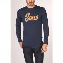 Only&Sons Pullover matt dark blue