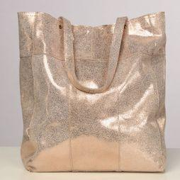 Pieces Sac Brandy Shopper Rose Clair/Or