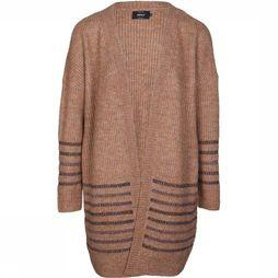 Only Cardigan Riga Ls Long Knit sand