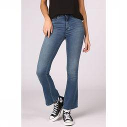 Only Jeans royal High Sk Sweet Flared Pim504 Donkerblauw