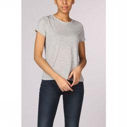 Only T-Shirt Onlisabelle Ss Foil Aop light grey/gold
