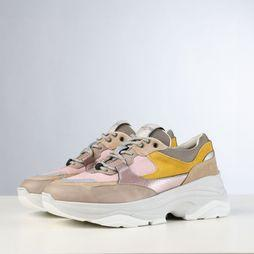 Selected Sneaker gavina Trainer B light pink/mid yellow