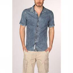 Only&Sons Chemise skys swashed denim Bleu Moyen