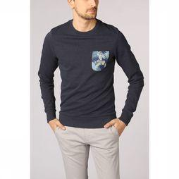 Jack & Jones Pullover orfloral Pckt dark blue