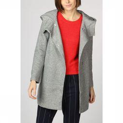 Only Coat maddie Light Hooded Long Coat Cc Otw Light Grey Mixture