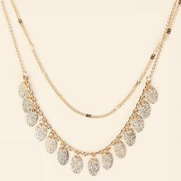 Pieces Collier Safa Combi Or