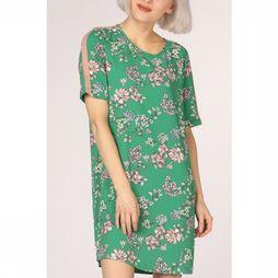 Only Jurk casa 4.0 Tee Dress Aop Wvn Middengroen/Middenroze