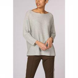 Vero Moda Basics Pullover nora 3/4 Boatneck Noos Light Grey Mixture