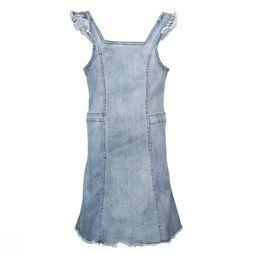 Kids Only Dress freja Frill mid blue