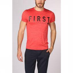 First T-Shirt Aryan Training Ss Rouge
