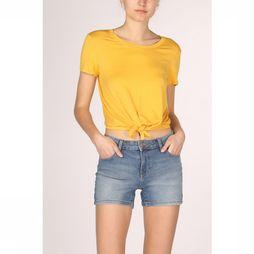 Only T-Shirt arli S/S Knot Top Jrs Middengeel