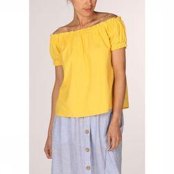 Vero Moda Blouse Anna Milo Off Shoulder Jaune Clair