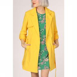 Only Manteau jane Drapy Coat Otw Jaune Moyen