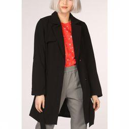 Only Manteau jane Drapy Coat Otw Noir