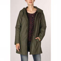 Only Coat vanessa Sherpa Raincoat Cc Otw dark khaki