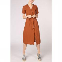 Only Robe bella 3/4 Button Dress Wvn Chameau