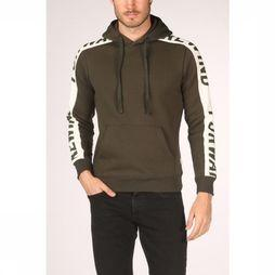 Jack & Jones Pull Rock Hood Kaki Moyen