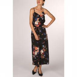 Only Combinaison juliet  Jumpsuit Noir/Assortiment Fleur