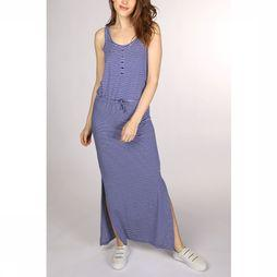 Object Dress Stephanie Maxi Seasonal off white/mid blue