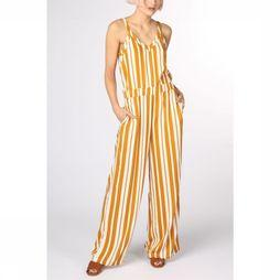 Object Jumpsuit Objjequeline S/L dark yellow/white