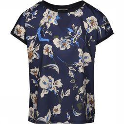 B.Young Blouse Bypanya Rib Donkerblauw/Assortiment Bloem