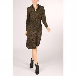 Vero Moda Dress sasha Shirt L/S Noos mid khaki/black