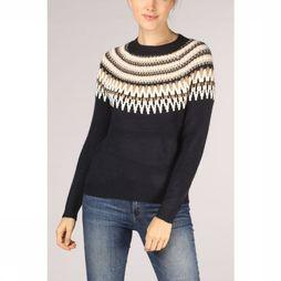 Only Pull ayoelle L/S Marine/Brun Sable