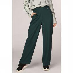 Vero Moda Trousers kathryn Hw Coco Long Ga dark green