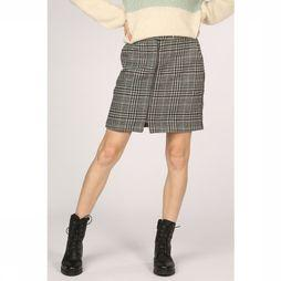 Vero Moda Rok rebel Hw Short Wool Skirt Zwart/Wit