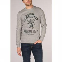 Jack & Jones Pull Jorgot Gris Clair Mélange
