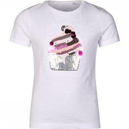 Name It T-Shirt fnista Ss Top Box Blanc