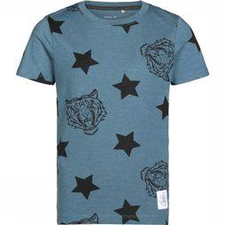 Name It T-Shirt Ni Rafael Ss Top Bleu De Jeans