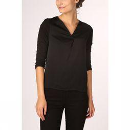 Only T-Shirt ava 3/4 Placket Mix Jrs black
