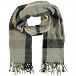 Pieces Scarf jucy Long off white/light grey