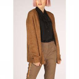 Vero Moda Cardigan darya Ls Open Noos dark brown