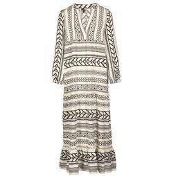 Vero Moda Dress Dicthe L/S Maxi  off white/black