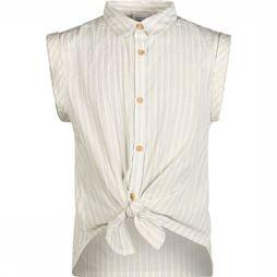 Name It Blouse Nkfflavia Capsl Blanc Cassé/Or