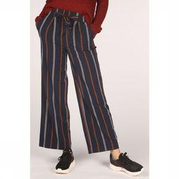 Only Trousers milla Hw Wide Stripes dark blue/sand