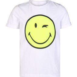 Name It T-Shirt Nkmhappy Telo Ss Wit