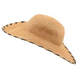 Pieces Hat Naya Straw light brown/black