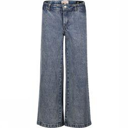 Kids Only Jeans Konlisa Wide Cropped Acid Jeans Jeans/Bleu Moyen