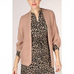 Vero Moda Cardigan Vmlise 2/4 Open W. Lurex Loc Rose Clair
