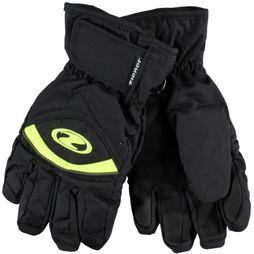 Ziener Glove Largo Gore-Tex black/mid green