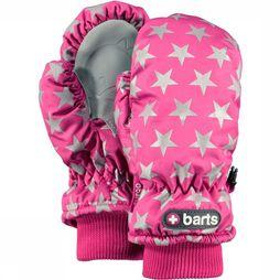 Barts Want Nylon Mitts Kids Middenroze/Zilver