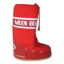 Moon Boot Moonboot Nylon Rouge Moyen