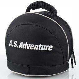 A.S.Adventure Ski Bag Helmet AS Logo black/white