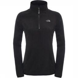 The North Face Polaire Glacier 1/4 Noir
