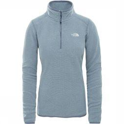 The North Face Polaire Glacier 1/4 Gris Clair